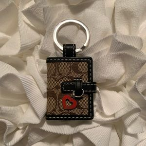 Coach Locket Keychain